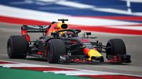 Daniel Ricciardo v kvalifikaci v Austinu