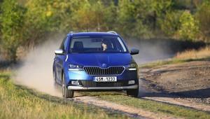 Škoda představila offroadově laděnou Fabii Scoutline, nejlépe jí však bude na silnici - anotační obrázek