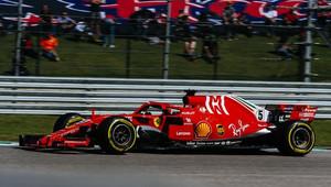 """""""Rychlost na vítězství v Austinu jsem měl,"""" lituje Vettel +VIDEO - anotační obrázek"""