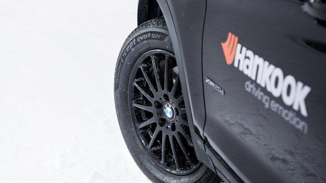 Po náročných testech si v BMW vybrali Hankook do prvomontáže vozů řady 7 a X3
