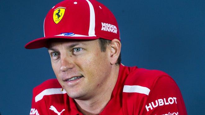 Kimi Räikkönen mění působiště