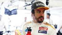 Fernando Alonso v tréninku v Mexiku