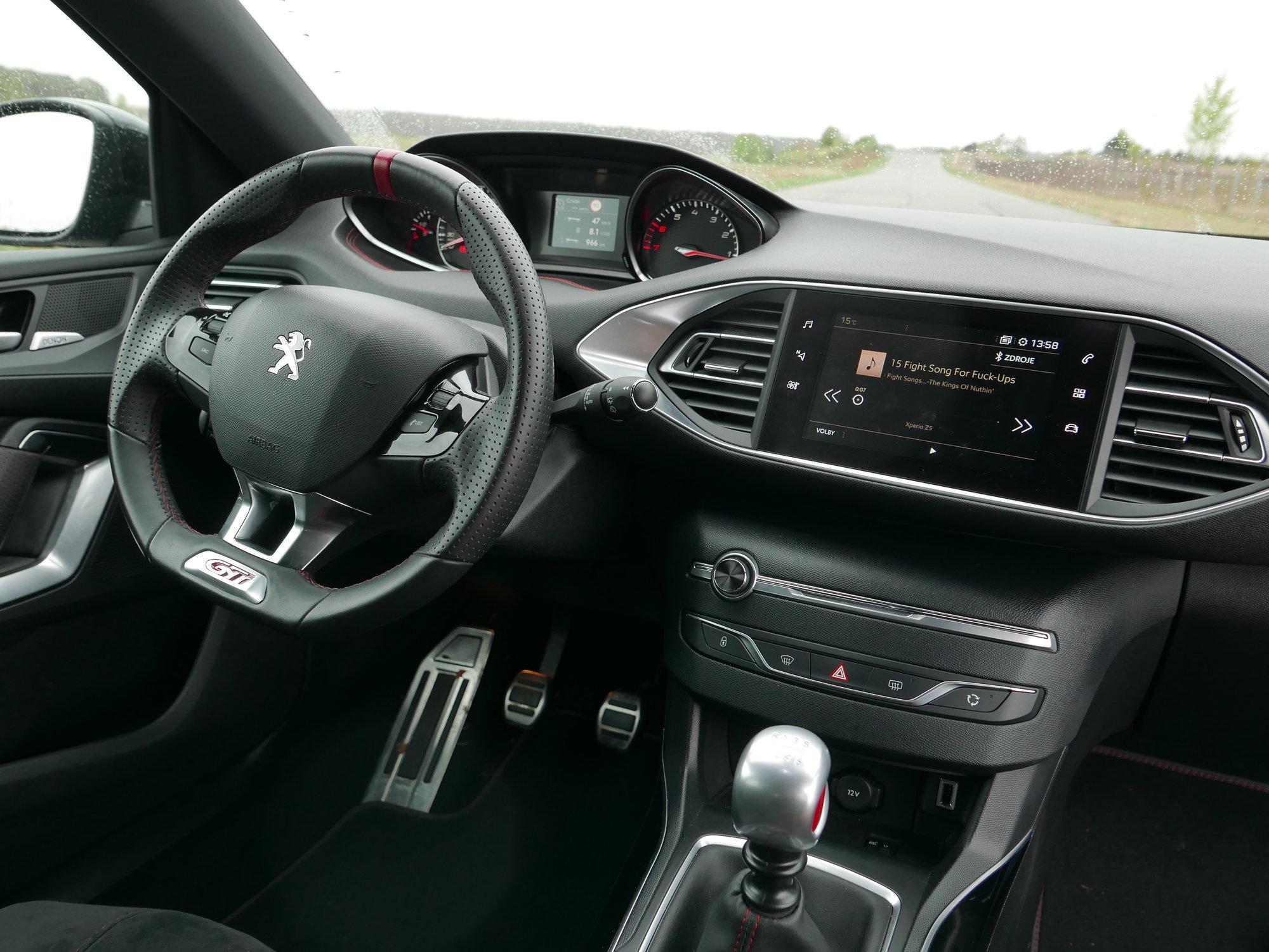 Peugeot 308 GTi 1.6 THP 270