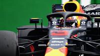 Daniel Ricciardo v kvalifikaci v Mexiku
