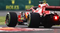 Sebastian Vettel v kvalifikaci v Mexiku