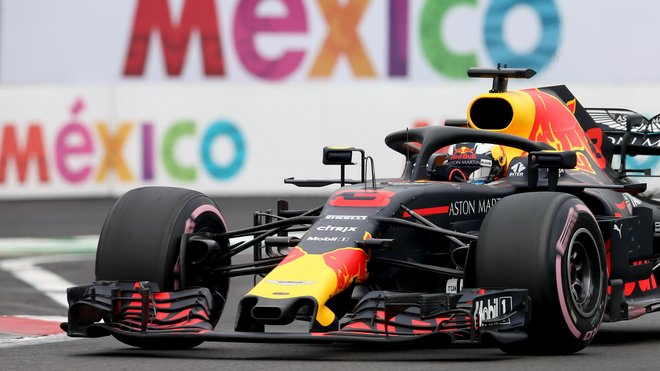 Daniel Ricciardo v Mexiku cíl opět neviděl