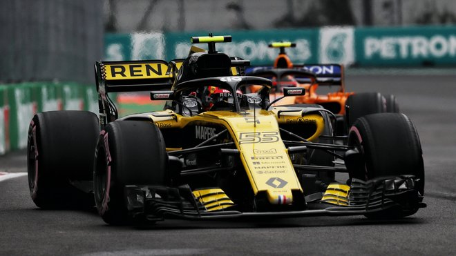 Carlos Sainz v kvalifikaci na GP Mexika