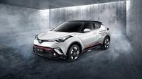 Toyotu C-HR ozdobily pruhy Adidas