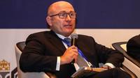 Předseda představenstva Škoda Auto, Bernhard Maier, během projevu na Česko-čínském obchodním fóru, konaném během mezinárodního veletrhu CIIE 6. listopadu 2018 v Šanghaji.