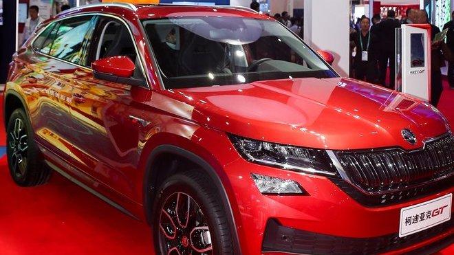 Škoda na českém národním stánku představuje svou novou vlajkovou loď v Číně. Představením nového modelu Škoda Kodiaq GT pokračuje SUV-ofenzíva značky Škoda v Číně.