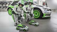 Škoda připravila neobvyklou prohlídku své mladoboleslavské továrny, kterou se proháněla dvojice výkonných RC modelů