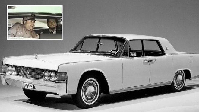 V dobové reklamě na Lincoln Continental si Američané dělali legraci ze Sovětů a jejich pohlavárů