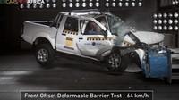 Crash test Nissanu NP300 Hardbody, prodávaného na rozvojových trzích, ukázal hrozivé výsledky