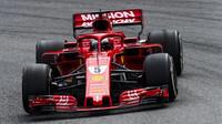 Sebastian Vettel loni v Brazílii