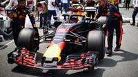 Max Verstappen před závodem v Brazílii