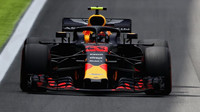 Max Verstappen ve Velké ceně Brazílie 2018