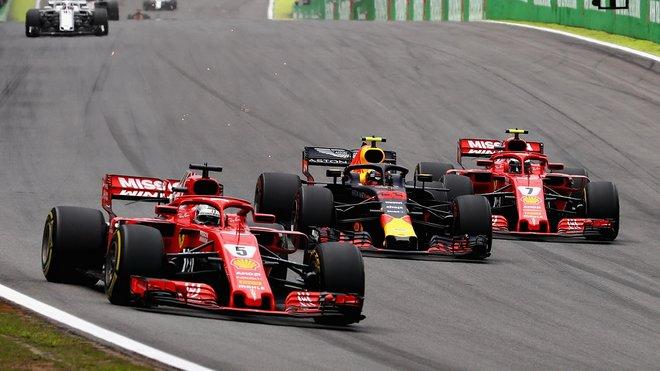 První tři týmy jsou v F1 výkonnostně v jiné kategorii