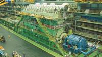 Největší a nejvýkonnější motor světa: dvoutaktní čtrnáctiválcový trubo-diesel Wärtsilä-Sulzer RTA96-C