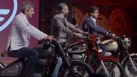 Prezentace nových motocyklů JAWA, které se již brzy objeví na indickém trhu