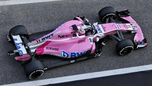Force India v roce 2018 kvůli finančním potížím nedala na auta tolik novinek, kolik chtěla - anotační obrázek