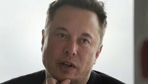 Elon Musk během rozhovoru pro Axios
