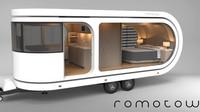 Převratný karavan Romotow