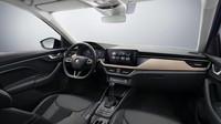 Interiér nového modelu Škoda Scala