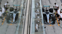 Valtteri Bottas při posezónních testech v Abú Zabí