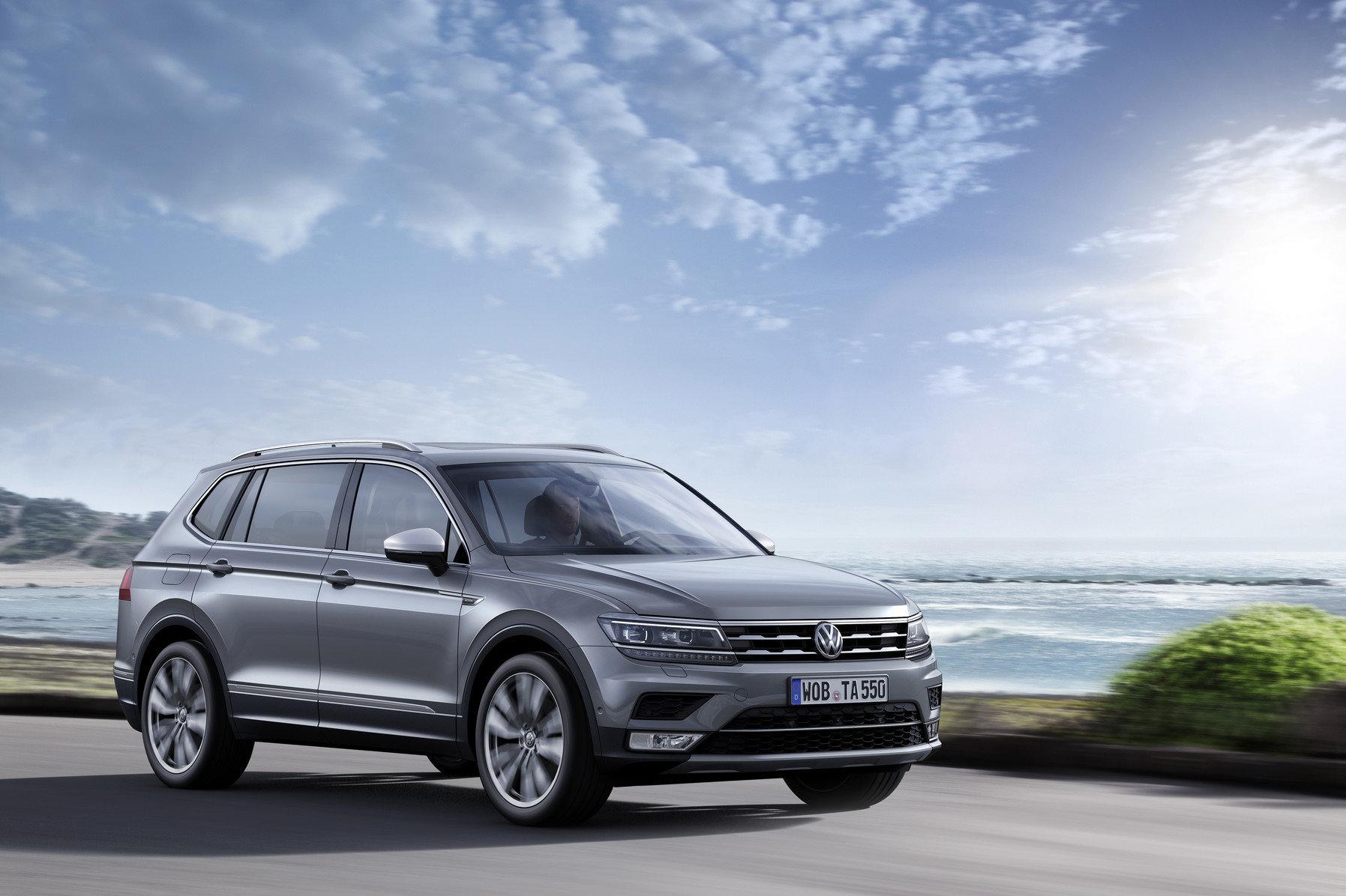 Více než 90 procent všech vozů Tiguan Allspace bylo vroce 2018 dodáno zákazníkům s DSG