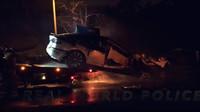 Hasiči zveřejnili video ze srpna 2017, kdy několik hodin bojovali s požárem Tesly Model X