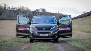 TEST: Peugeot Traveller 4x4 Dangel - anotační obrázek