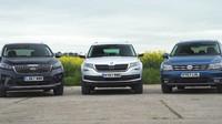 Škoda Kodiaq vs. Kia Sorento a Volkswagen Tiguan Allspace. Jaké 7-místné SUV je nejlepší? - anotační foto