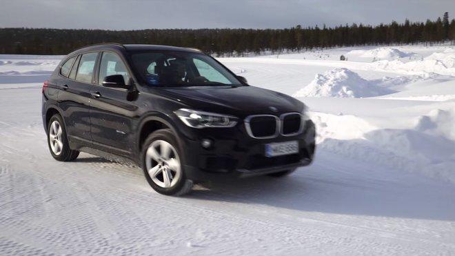 Obutím zimních pneumatik pouze na hnanou nápravu se vůz stane velice nestabilním