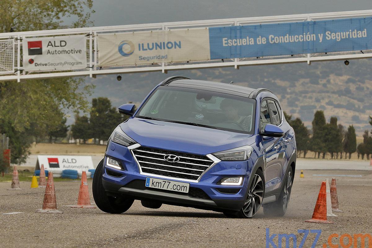 Losí test prověřil Hyundai Tucson, nošovické SUV však prošlo bez ...