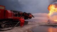 Monstrum jménem Big Wind: Letitý tank s motory ze stíhaček, který hasil ropné vrty v Kuvajtu - anotační foto