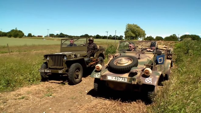 Jeep Willys vs. Volkswagen Kübelwagen