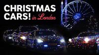 10 Christmas Cars Take Over London!