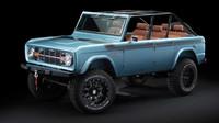 Původní Ford Bronco po lehké modernizaci techniky a interiéru