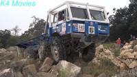 Náročný závod prověřil speciální náklaďáky s pohonem 8x8