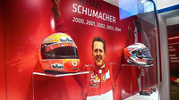 Ferrari se rozhodlo oslavit 50. narozeniny Michaela Schumachera speciální výstavou
