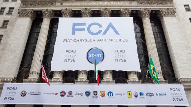 FCA na NYSE
