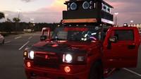 Upravený Hummer H2 je zřejmě nejhlasitější auto na silnicích. Slyšet je i 4.8 kilometru daleko - anotační foto