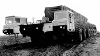 MAZ 7904 - Největší sovětské monstrum mělo zastrašovat Američany - anotační foto