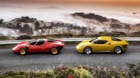 Ikonická Alfa Romeo 33 Stradale se dočkala moderního ztvárnění, základem je model 4C - anotační obrázek