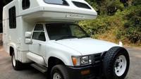 Toyota Hilux Galaxy Camper: Vzácný skvost z 90. let nabízí pohodlné bydlení takřka kdekoliv - anotační foto