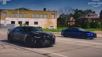Clarkson a May si zazávodili v ulicích Detroitu