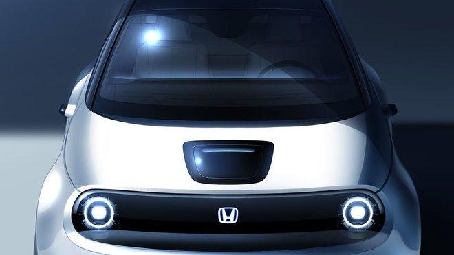 Nový snímek konceptu Honda Urban EV