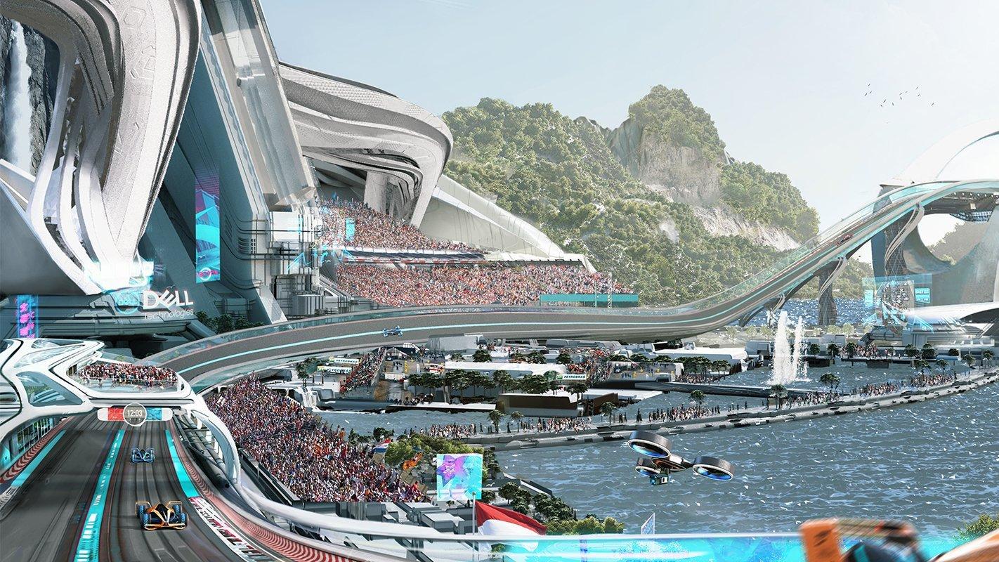 Vize okruhu budoucnosti dle McLarenu