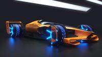 Vize monopostu pro rok 2050 dle McLarenu
