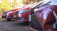 Ve srovnávacím testu hatchbacků se utkal Seat Ibiza, Škoda Fabia a Toyota Yaris